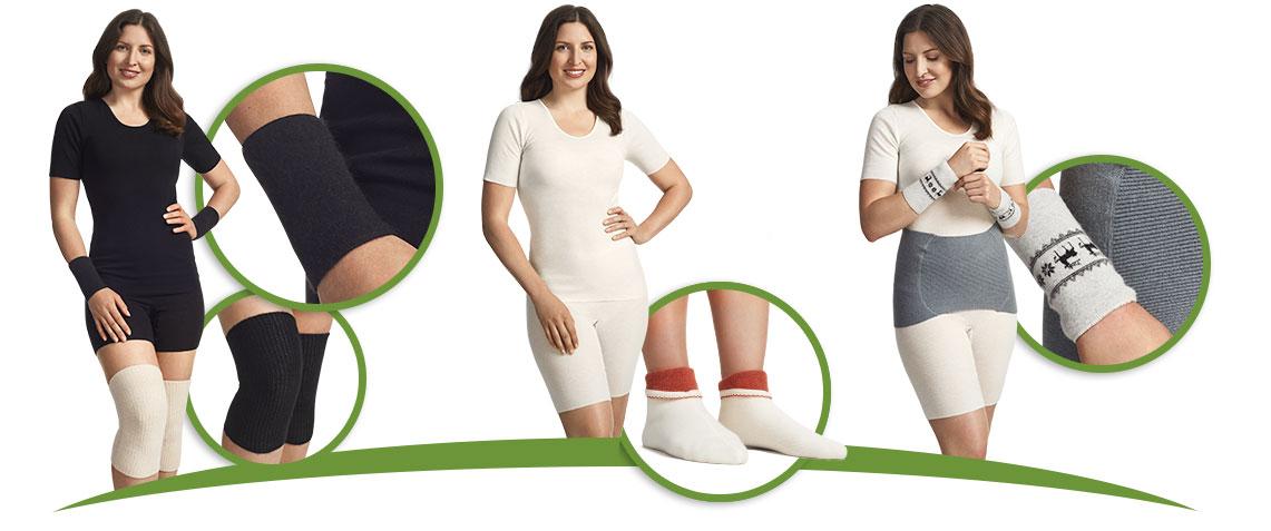 Wenn es draußen etwas kühler wird, ist es Zeit sich in wohlig warme Wäsche einzukuscheln. Medima Wäsche bietet durch einen flauscheigen Anteil an Angora besonderen Tragekomfort. Bei uns erhalten Sie sowohl Wäsche als auch einzelne Segmente wie z.B. den beliebten Nieren-/ Rückenwärmer.